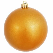 UV Drilled Candy Ball Cap Christmas Ornament