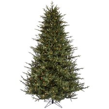 8.5' Itasca Frasier Christmas Tree with 1000 LED Warm White Lights with Stand