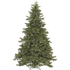 7.5' Frasier Fir Artificial Christmas Tree with 750 LED Multi Colored Lights