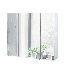 Basic 90cm x 71cm Surface Mount Mirror Cabinet