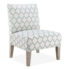 Lattice Slipper Chair in Sea Foam by DHI