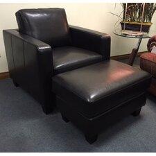 Enjoy Your Way Of Living Ocala Club Chair and Ottoman by Hokku Designs