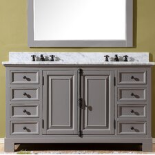 Freemont 60 Double Bathroom Vanity Set with Faucets by dCOR design