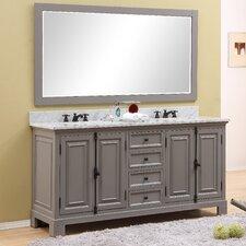 Freemont 72 Double Bathroom Vanity Set with Mirror by dCOR design