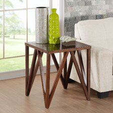 Josiah End Table by Hazelwood Home