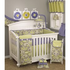 Periwinkle 9 Piece Crib Bedding Set by Cotton Tale
