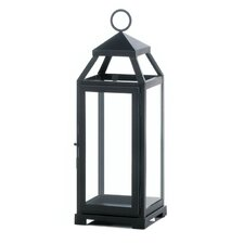 La Lean and Sleek Iron and Glass Lantern