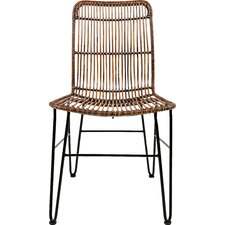 Ephialtes Solid Wood Dining Chair (Set of 2)