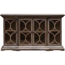 Belino Wooden 4 Door Accent Cabinet by Uttermost