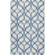 Stewart Indoor/Outdoor Blue/Ivory Area Rug