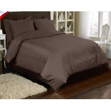 Supreme Sateen 3 Piece Reversible Duvet Cover Set