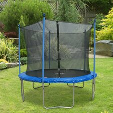 Round Trampoline with Safety Enclosure