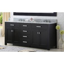 Fran 72 Double Bathroom Vanity Set by Darby Home Co