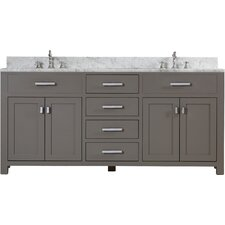 Fran 72 Double Sink Bathroom Vanity Set by Darby Home Co