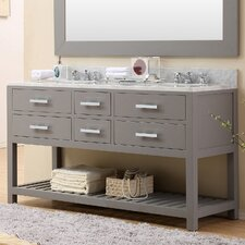 Fran 60 Double Sink Bathroom Vanity Set by Darby Home Co