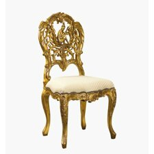 Elysee Guitar Side Chair by French Heritage