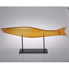 Art Glass Fish Figurine