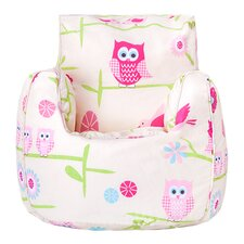 Owls Bean Bag Chair