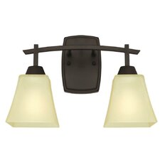 Midori 2-Light Vanity Light by Westinghouse Lighting