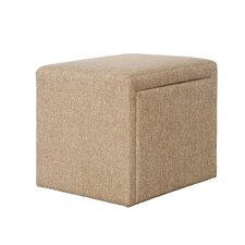 Cutshall 4 Piece Multi Functional Storage Ottoman Set by Red Barrel Studio