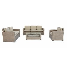 Candor 4 Piece Deep Seating Group with Cushions by Darby Home Co®