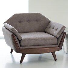 Blick Lounge Chair by Corrigan Studio