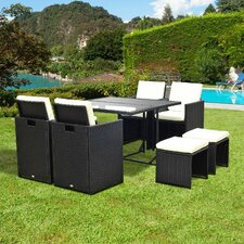 8 Seater Dining Set with Cushions