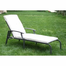 Sun Lounger with Cushion
