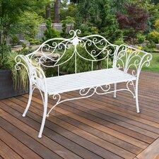 2-Sitzer Gartenbank aus Metall