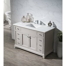 Leola 49 Single Sink Bathroom Vanity Set by dCOR design