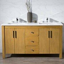 Cambridge 59 Double Sink Bathroom Vanity Set by dCOR design