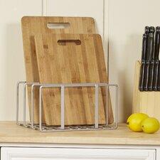 Wayfair Basics Cutting Board & Bakeware Organizer Rack