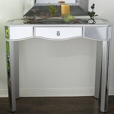 Elizabeth Mirrored Console Table by Heather Ann Creations