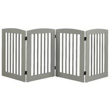 Ruffluv 4 Panel Expansion Dog Gate