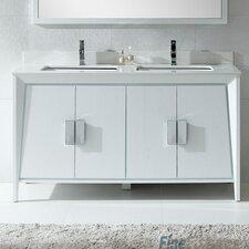 Imperial  II 60 Double Bathroom Vanity Set by Fine Fixtures