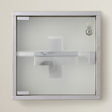 "Park Row 11.8"" x 11.8"" Surface MountMedicine Cabinet"
