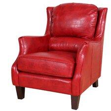 Garnet Bonded Club Chair by Porter International Designs