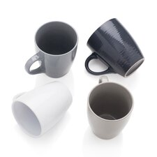 Texture Value 4 Piece Mug Set (Set of 4)