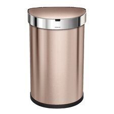 Stainless Steel 12 Gallon Motion Sensor Trash Can