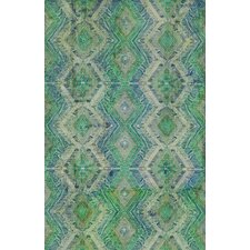 Villeroy Green/Blue Indoor/Outdoor Area Rug