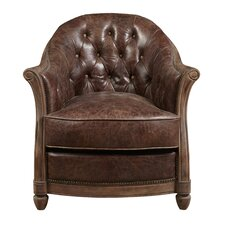 Tarheel Leather Club Chair by Highway To Home