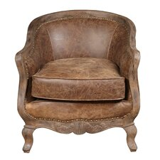 Newton Leather Club Chair by Highway To Home