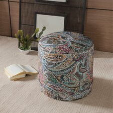 Jamir Nailhead Ottoman by Bungalow Rose