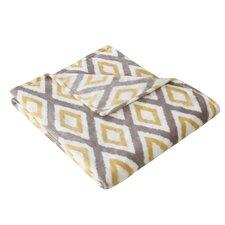 Goslin Ikat Diamond Throw Blanket