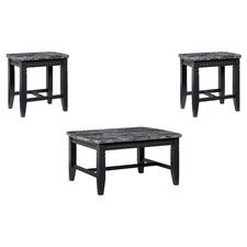 Oberlin 3 Piece Coffee Table Set by Darby Home Co®