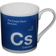 One Big Element 9.5cm Fine Bone China Caesium Carpe Diem Mug