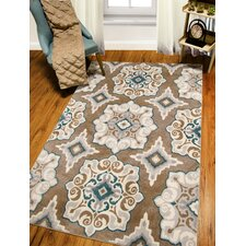 QUICK VIEW. Natural Cerulean blue/Tan Area Rug