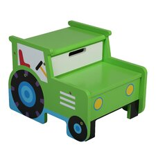 Olive Kids Tractor Step Stool with Storage