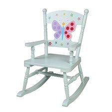Olive Kids Butterfly Garden Rocking Chair by Levels of Discovery