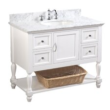 "Beverly 42"" Single Bathroom Vanity Set"